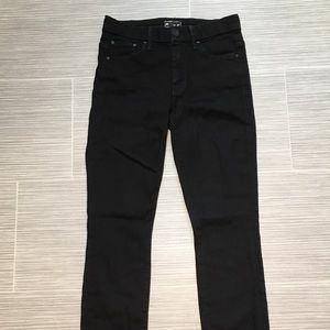 Mother black skinny jeans